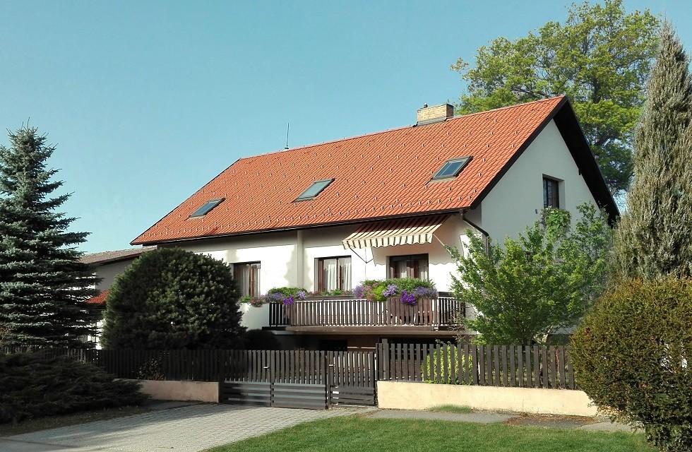 Vila Květ, nové ubytování v Třeboni